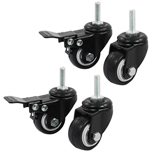 5,1cm Chair Caster Wheels glatter Oberfläche beim Kontakt zum Boden 2 Inch Swivel Caster - Caster Swivel