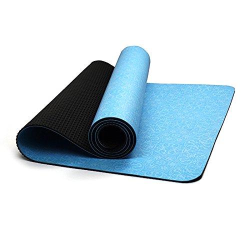 GLJ Alfombra De Yoga De Engrosamiento Plegable De Impresión ...