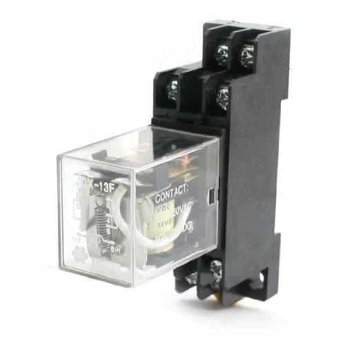 dc-12v-2-p-2-t-8-pin-control-del-motor-electromagnetico-rele-de-potencia-w-enchufe
