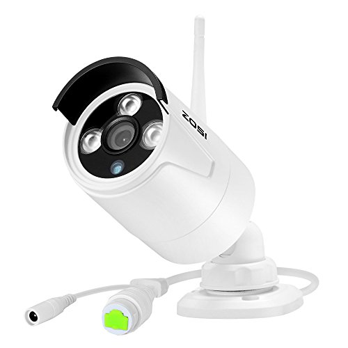 ZOSI 4CH 960P HD Wireless Security Camera System w/1TB Hard Drive, 4x1.30Megapixel 960P Wifi Outdoor IP Camera w/ 4CH 960P HD Security Network NVR Recorder Wifi Kit Support Smartphone Remote View