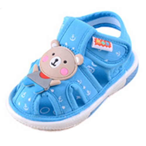 Bébé Sandales, Chaussures pour bébé, doux Fond antidérapant 0-3 ans