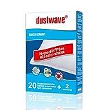 Dustwave Lot de 20 sacs d'aspirateur pour aspirateurs AEG AEQ 20+ Equipt - Sacs...