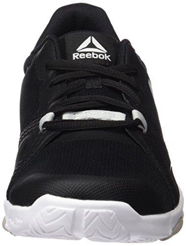Reebok Trainflex Lite, Scarpe Sportive Indoor Donna Nero (Black/skull Grey/white)