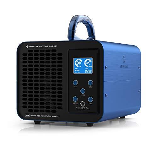 Airthereal MA10K-PRODIGI Digitaler Ozongenerator 10.000 mg/h O3-Maschine Home-Luft Ionisator Geruchsentferner Deodorant,Einstellbare für alle Raumgrößen