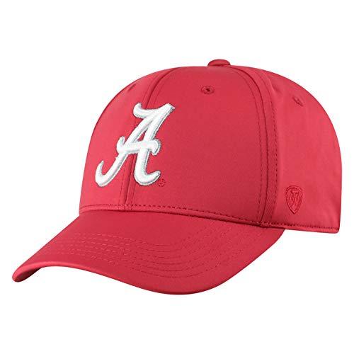 Top of the World Herren Mütze NCAA One Fit Phenom Team Icon, Herren, NCAA Men's One Fit Phenom Team Icon Hat, Alabama Crimson Tide Crimson, Einstellbar