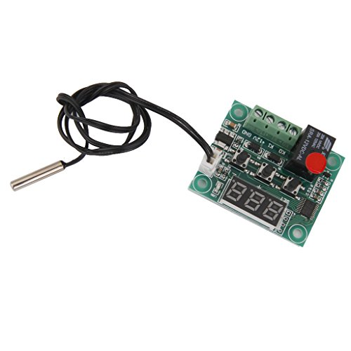 W1209 Módulo Sensor Interruptor De Control De Temperatura Del Termostato Digital De 12v