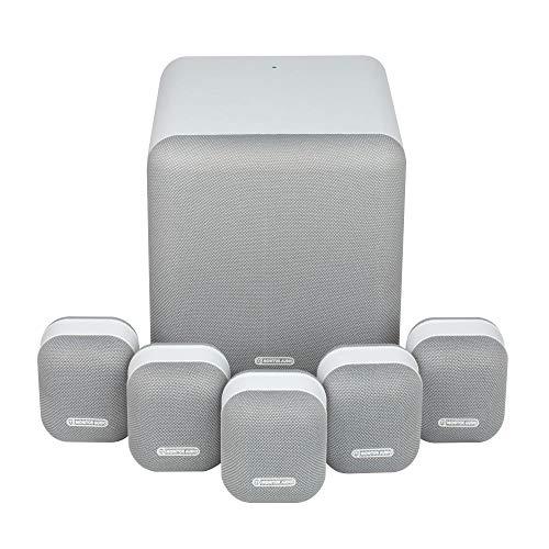 Monitor Audio MASS Surround Sound 5.1 Speaker Package (Mist White)