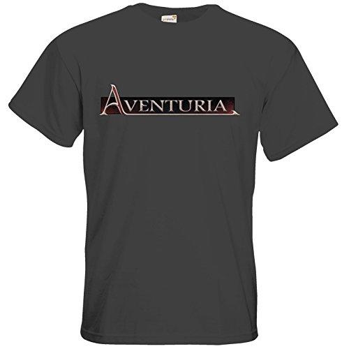 getshirts - Das Schwarze Auge - T-Shirt - Logos - Aventuria Dark Grey