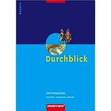 Durchblick Universalatlas: Bayern