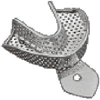 Comdent 30-2536 - Bandeja para imprimir (acero inoxidable, perforada, inferior L3)