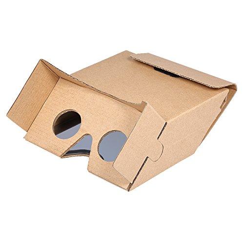 Docooler 3D AR Augmented Reality DIY Papier Box AR Headset für 3D Filme und Spiele Kompatibel mit...
