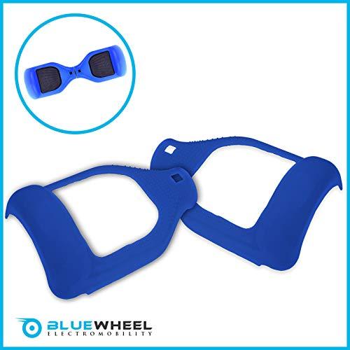 Bluewheel Silikon Schutzhülle für 6,5 Zoll Hoverboard Self Balance Scooter Smart Elektro Scooter E-Balance (Blau)