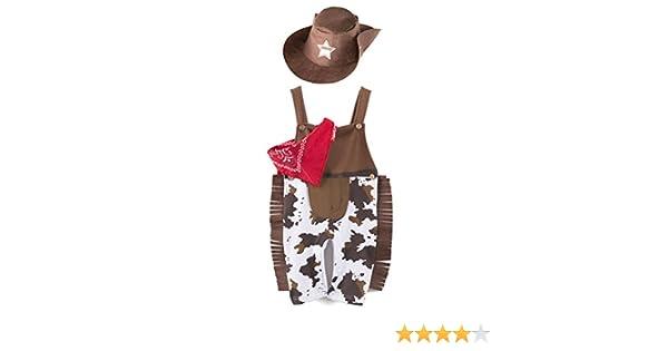 Capuchon Lot de 3 3-24 Mois ARAUS B/éb/é Gar/çon Costume de D/éguisement Cowboy Ensemble Triangle