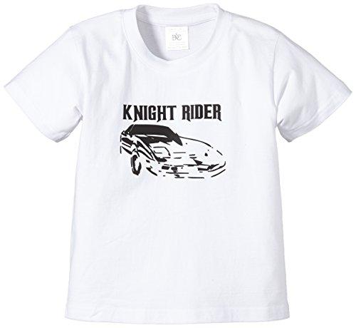 Touchlines - T-Shirt Knight Rider, T-shirt per bimbi, bianco (White), Taglia produttore: 110/116