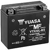 YUASA BATERIA YTX20L-BS AGM abierto - con paquete de ácido