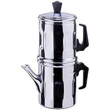 CAFFETTIERA tradizionale NAPOLETANA ALLUMINIO tz. 3-4
