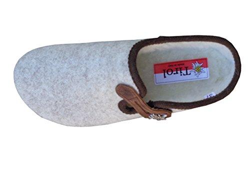 Crème Donna Invernali Groden Tirol Pantofole 4Sq1wP47n