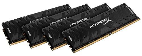 HyperX HX426C13PB3K4/64 Predator Arbeitsspeicher, DDR4, 64GB (Kit 4x16GB), 2666MHz, CL13, DIMM XMP