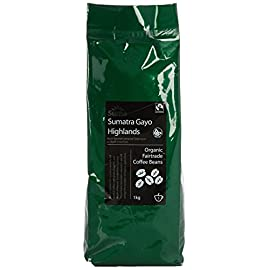 Suma Fairtrade Organic Sumatra Coffee Gaya Highlands 1 kg