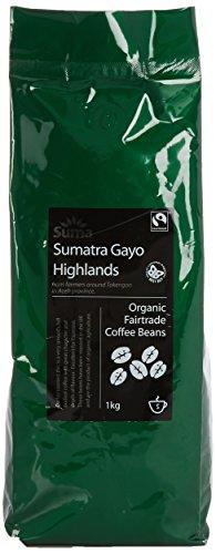 Suma Fairtrade Organic Sumatra Coffee Gaya Highlands 1 kg 41r6 RHrXdL
