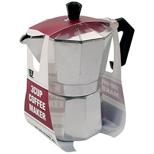 3 Cup Coffee Maker Stove Pot Espresso Kitchen Aluminium CAFETIERE Percolator New