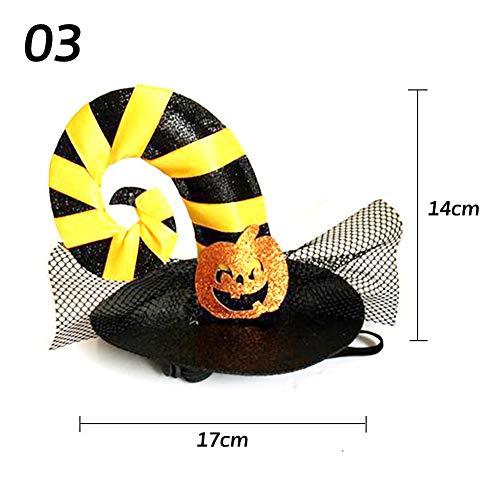 Jspoir Melodiz 1pc Halloween Hut Dekoration für Haustier Halloween Haustier Kostüme Halloween Dekorationen Halloween Dekoration Ideen (3)