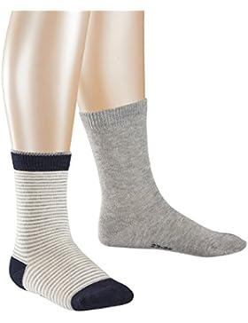 ESPRIT Mädchen Socken Colourful Steps, 2er Pack