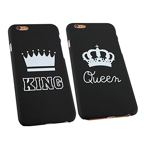 cuitan-fashion-couples-frosted-hard-2-x-cases-cover-for-apple-iphone-6-6s-47-inch-king-and-queen-cro