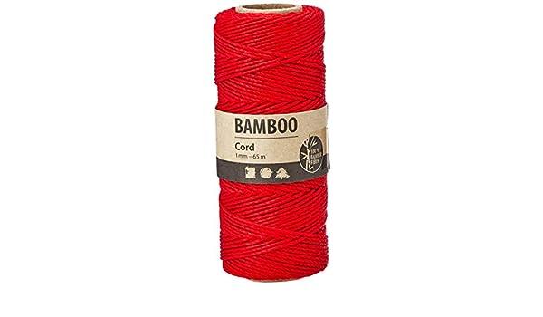 Länge 65 m Stärke 1 mm Bambuskordel