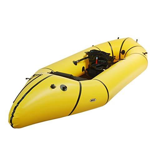 AA-PHUJ Bote Inflable de Kayak para embarcaciones de Pesca con Kayak Doble/Amarillo