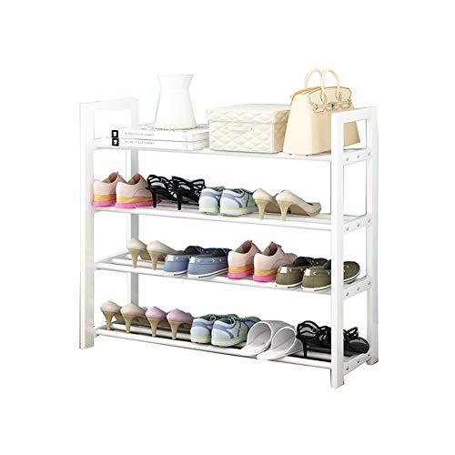 Multi-couche de chaussure rack de stockage en bois massif étagère simple de la poussière de maison rack rack de chaussures