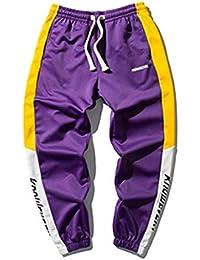 d42d18acc8ea7 Para hombre de Hip Hop Danza flojos Beam pie del basculador Sweatpants Pantalones  Harem pantalones casuales