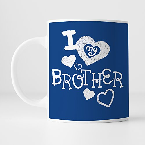 Ceramic Mug || Happy Raksha Bandhan || Rakshabandhan Gift For Brother || Rakhi Gift For Sister || Gift For Rakshabandhan || Gift For Rakhi Superior Quality Ceramic Mug Capacity (350 ML) For Raksha Bandhan Gifts by 100yellow  available at amazon for Rs.198