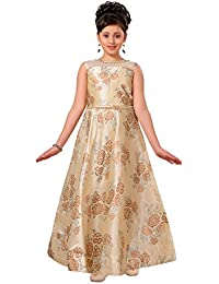ADIVA Girl's Silk Blend Party Wear Gown (G-1781-$P)