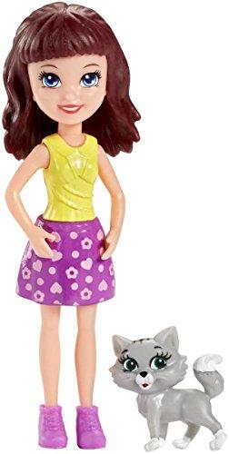 Mattel DNB18 - Polly Pocket Tierfreunde Sortiment Lila