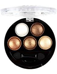 Ombre À Paupières Kolylong Professionnel Yeux Maquillage Pigment Fard À Paupières 5 Couleurs Palette Beauté Marque, A