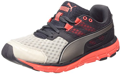 Puma Poseidon v2 Wn, Chaussures de course femmes - Gris - Grau (gray violet-periscope-fiery coral 03), Taille 37 EU