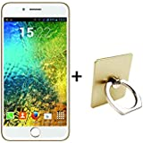 I KALL K1 5 Inch 4G Android Phone With Free Ring Holder - Gold