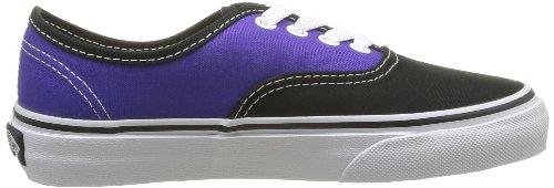 Vans Authentic, Unisex - Kinder Sneaker Mehrfarbig - Multicolore (Black/Liberty)