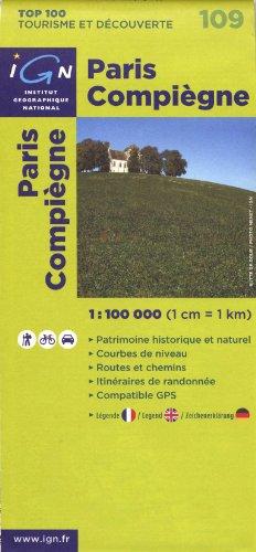 Paris Compiègne : 1/100 000