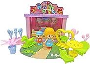 Popsugar Mini Dream Home Cabin with accessores Toy for Kids, Multicolor
