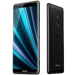 """Sony Xperia XZ3 - Smartphone con display OLED da 6"""" (64GB di memoria interna, 4GB RAM, Snapdragon 845, Android 9.0) + Micro SD da 64 GB [Italia] – Nero"""