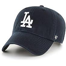 '47Cap MLB Los Angeles Dodgers Clean Up Negro negro Talla:OSFA