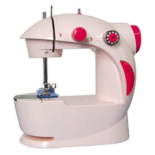 By Goank 4 in 1 Mini Portable Sewing Machine Works With Battery & Electricity
