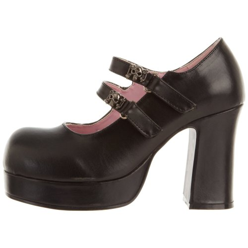 Demonia , Chaussures à talons femme BLK Vegan Leather