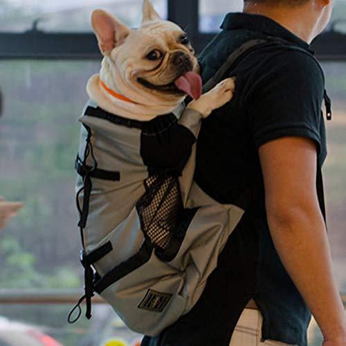 MFZJ Borsa da Trasporto per Cani Borsa da Viaggio per Animali Domestici (15-22Kg) Bianco