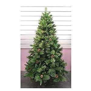 /¡M/ágico! Altura 90 cm 88 LED Multicolor pie inclu/ído /Árbol de Navidad artificial iluminado con fibra /óptica 8 Juegos de luces