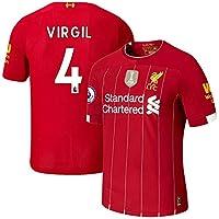 K&A Camiseta Virgil Van Dijk Liverpool Rojo 2019/20 para Hombre & Niño (Rojo, M)