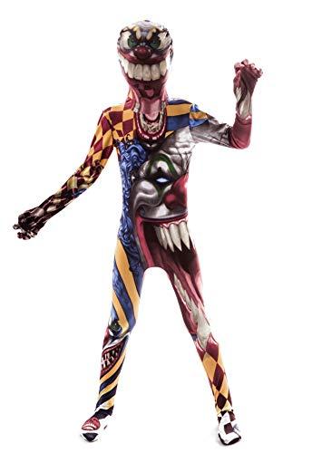 Tdhappy Halloween Rollenspiele Kostüme Clowns Horror Werwölfe Horror Änderung 4-12 Jahre Alten Kinder Verkleiden,Clown,7-9 Jahre ()