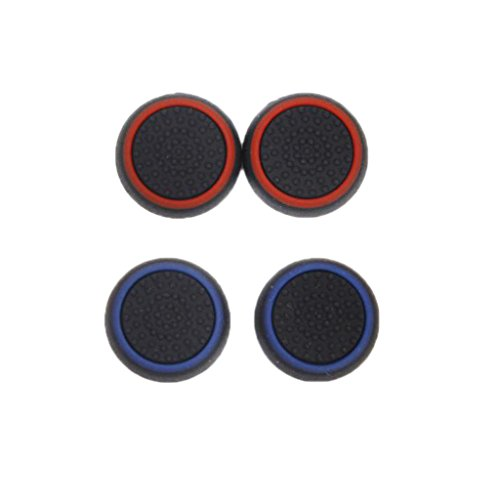 Baoblae 4Pcs Joystick Thumb Grip Caps for Sony PS4 PS3 Xbox 360/ One Game Controller  available at amazon for Rs.180